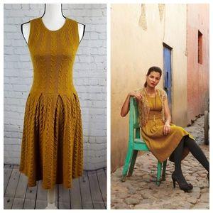 Anthropologie Far Away From Close Wool Dress